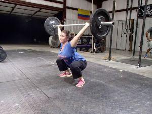 overhead squat 45 lbs